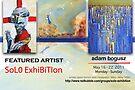 Adam Bogusz' Solo Exhibition Banner by solo-exhibition