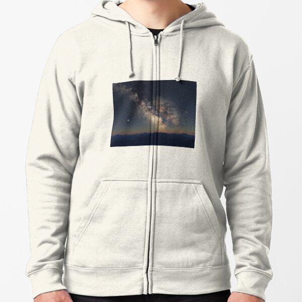 Milky Way Zipped Hoodie