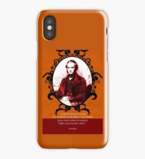 Charles Darwin Quote 4 iPhone Case