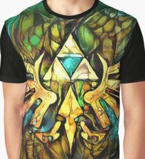 Mosaic Triforce Graphic T-Shirt