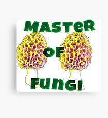 Master Of Fungi Canvas Print