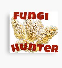Fungi Hunter Canvas Print