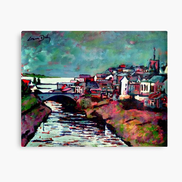 Ballyshannon (County Donegal, Ireland) Canvas Print