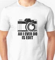 Alles was ich tue ist V4 bearbeiten Slim Fit T-Shirt