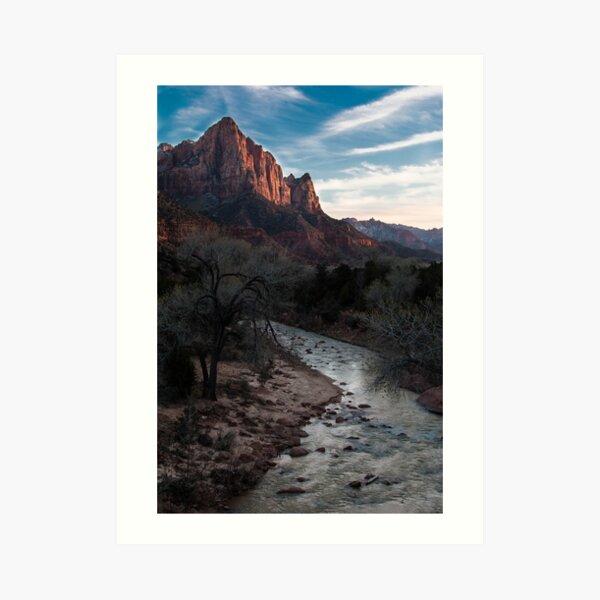 Zion - 2-3 Art Print