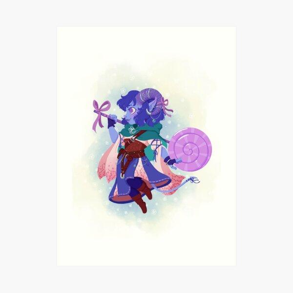 Cute Jester Art Print