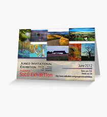 SoJie16, Landscape and Light, Banner Greeting Card