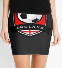 Soccer flag England Mini Skirt