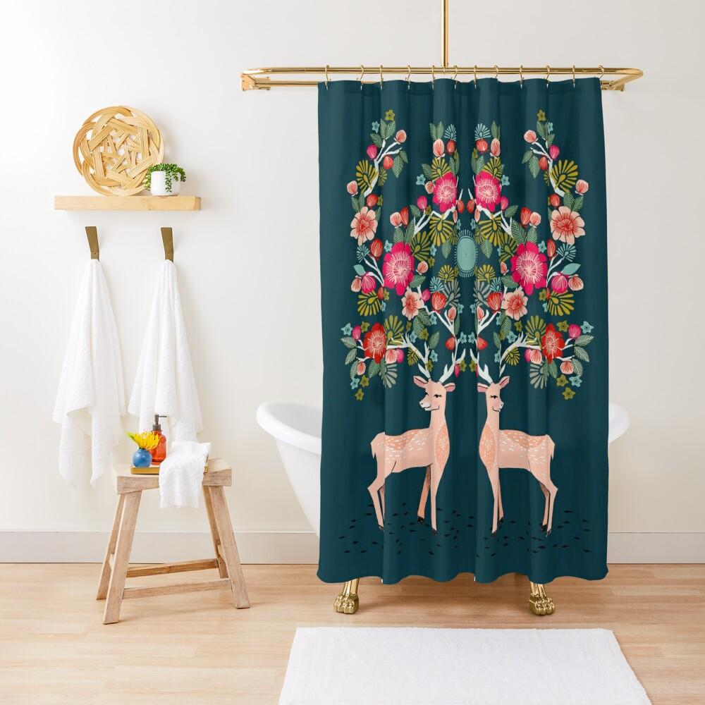 Doe a Deer Shower Curtain