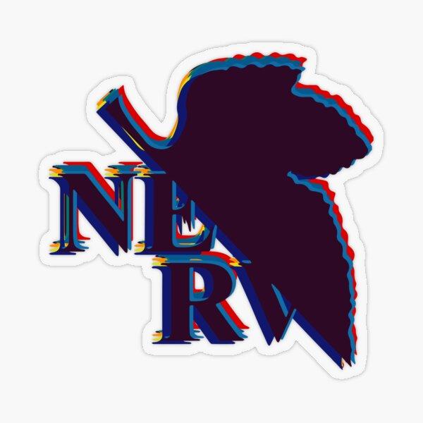 Nerv - Evangelion Transparent Sticker