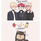 BTS: FOOD? by randomsplashes