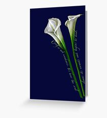 Grief is not Weakness. Greeting Card