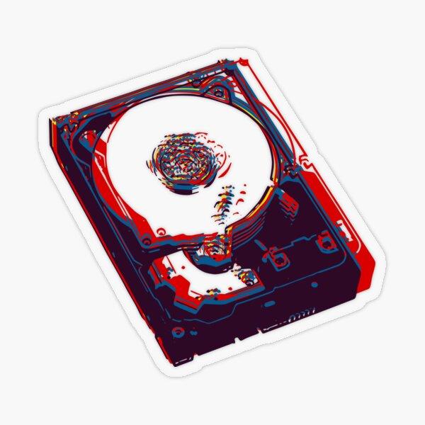 hard drive Transparent Sticker