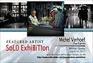 Michel Verhoef, Solo Exhibition Banner by solo-exhibition
