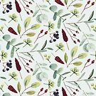 « Eucalyptus et baies » par MarieDricot