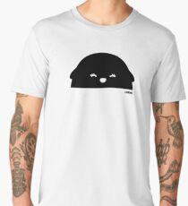 Happy Girl Bear, black halfsie Men's Premium T-Shirt