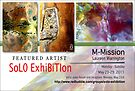 M-Mission, Laureen Warrington, Solo Exhibition Banner by solo-exhibition