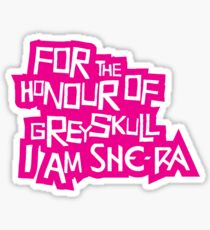 For the Honour of Greyskull Sticker
