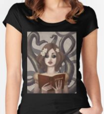 Captivating Women's Fitted Scoop T-Shirt