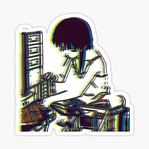 Serial Experiment Lain Glossy Sticker