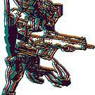 Evangelion Unit-02 by lain-zine