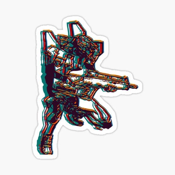 Evangelion Unit-02 Glossy Sticker