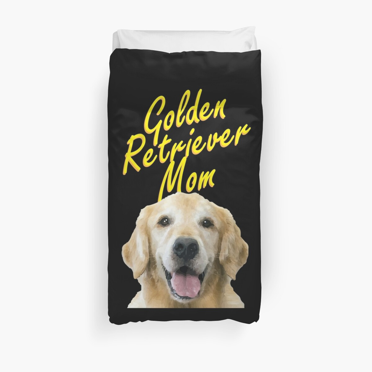 Golden Retriever Mom Gift For Dog Owners Duvet Covers By Trndsttr