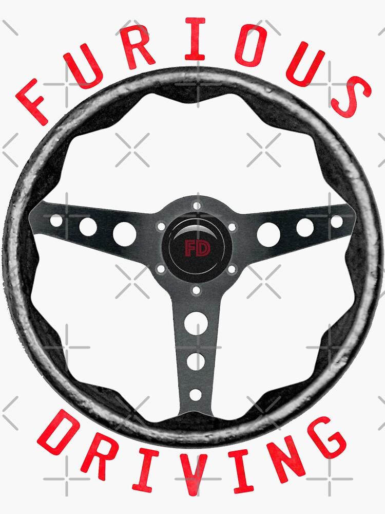 Large Furious Driving logo: Fix it. Drive it. Fix it some more. by matt145qv