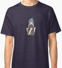 Girl & Her Cat  Classic T-Shirt