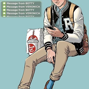 Riverdale ® Archie Comics Merch T-Shirt by Halla-Merch