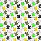 Chibi Axolotls by Kristina S