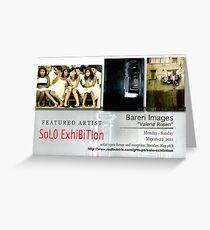 Bareri Images, Valerie Rosen, Solo Exhibition Banner Greeting Card