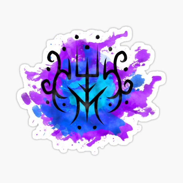 Sigil for protection, and to ward off negative energies Sticker