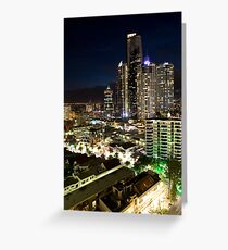 The Gold Coast, Queensland, Australia Greeting Card