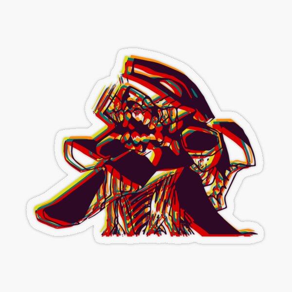 Evangelion Unit-01 Beserk Transparent Sticker
