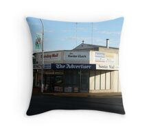Corner Store Throw Pillow