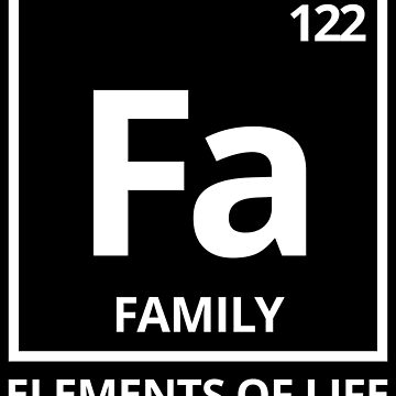 Elements of life: 122 family by PhrasesTheThird