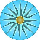 Mariners Compass by Eric Pauker