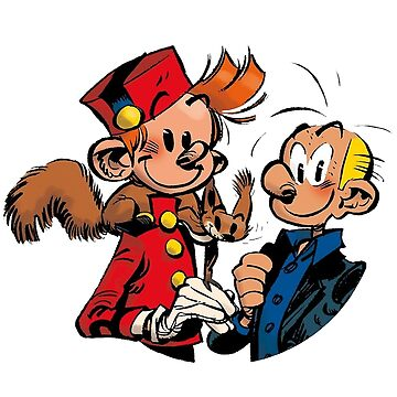Two Adventurous Spirou and Fantasio by doloresw