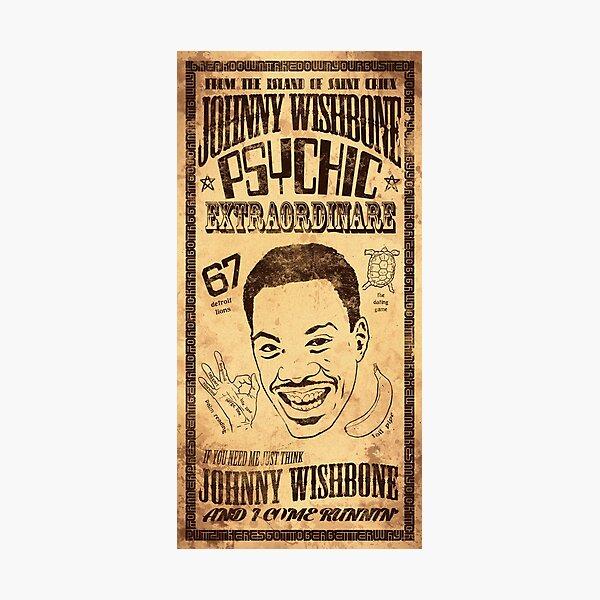 Johnny wishbone advert  Photographic Print
