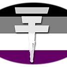 Tokio Hotel logo Ace flag by Zarlina