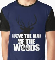 I Love the Man of the Woods Justin Timberlake Fan Art  Graphic T-Shirt