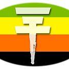Tokio Hotel logo Aromantic flag by Zarlina