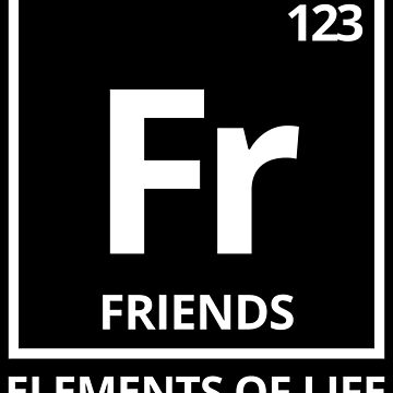 Elements of life: 123 friends by PhrasesTheThird
