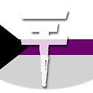 Tokio Hotel logo Demisexual flag by Zarlina