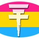 Tokio Hotel logo Pansexual flag by Zarlina