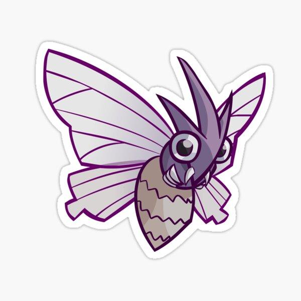Venomoth Sticker