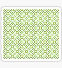 All Irish, Green Is for Luck Sticker