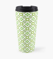 All Irish, Green Is for Luck Travel Mug