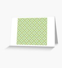All Irish, Green Is for Luck Greeting Card